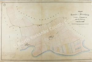 Historic map of Ellenthorpe 1847