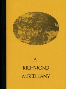 A Richmond Miscellany; by L. P. Wenham & C. J. Hatcher