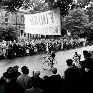 Cycle Race during French Week, Harrogate