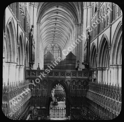 Beverley Minster Nave and Choir