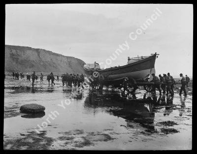 Launching the Lifeboat, Robin Hood's Bay