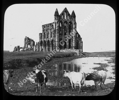 Whitby Abbey from South East