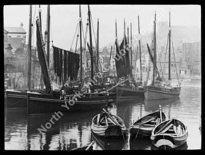 The Herring Boats, Whitby