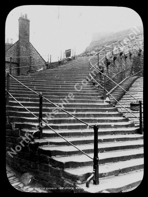 The Way to Church 199 Steps, Whitby