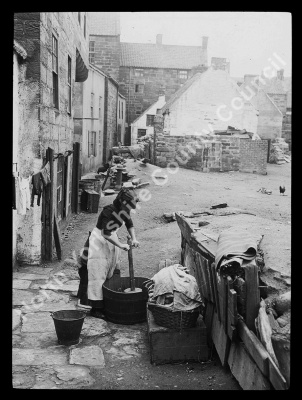Washing Day at Staithes