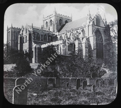 Ripon Cathedral from South