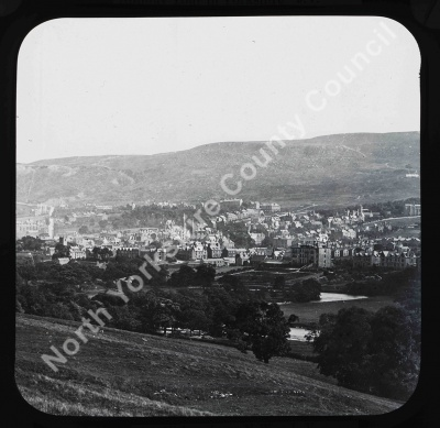 Ilkley from North West