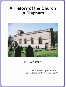 The History of the Church in Clapham by P.J. Winstone