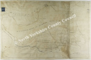 Historic enclosure map of Askrigg 1819