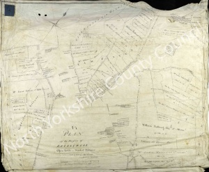 Historic map of Kettlewell 1802