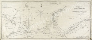 Historic map of Thornton Steward and Newton le Willows 1800