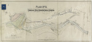 Historic inclosure map of Ripon 1858, Plan 3