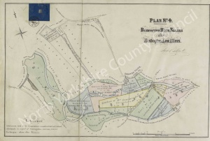 Historic inclosure map of Ripon 1858, Plan 4