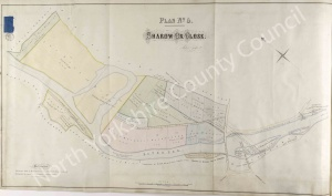 Historic inclosure map of Ripon 1858, Plan 5