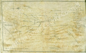 Historic inclosure map of Stonebeck Up 1825