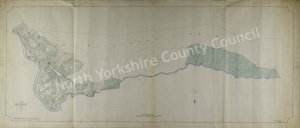 Historic map of Mickleton 1802