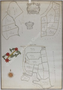 Historic map of Danby 1791