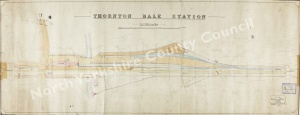 Historic plan of Thornton Dale Station