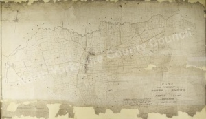 Historic map of Knayton 1851