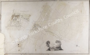 Historic map of Thirsk 1796