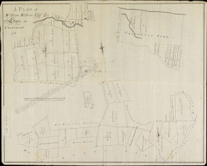 Historic map of Crakehall 1778