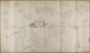 Historic map of Crakehall 1773