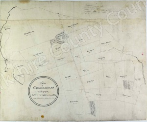 Historic map of Marske 1824