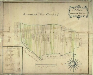 Historic map of Richmond 1766