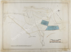 Historic map of Redmire, Bolton & Leyburn 1851