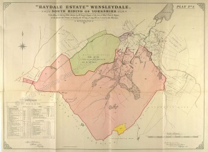 Historic plan of the Raydale Estate