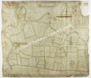 Historic map of Berwick on Tees