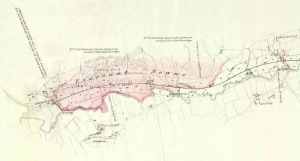 Historic railway plan of Castleton to Grosmont