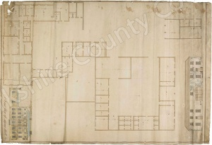 Historic plan of Sessay Hall 1798
