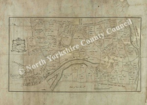 Historic plan of Brancepeth