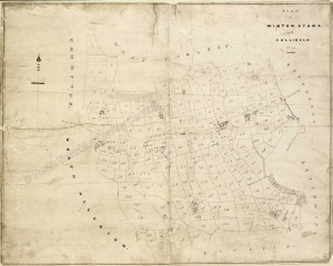 Historic map of Winton