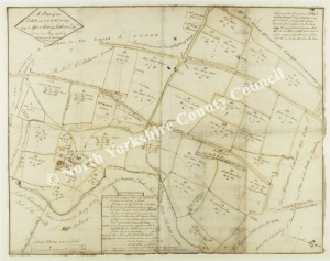 Historic map of Leake 1786