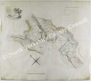 Historic map of Bransdale 1782