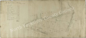 Historic map of Westerdale 1819