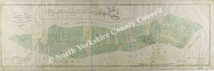 Historic map of Nawton 1816