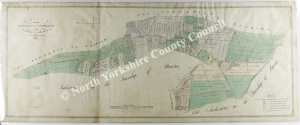 Historic map of Wombleton 1816