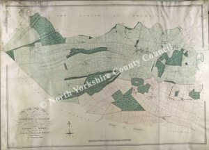 Historic map of Sproxton & Oswaldkirk (Grange) 1820