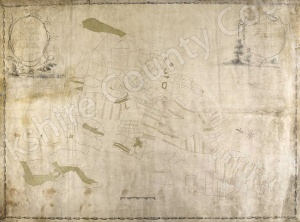 Historic map of Kirkby Moorside 1780