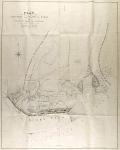 Historic map of Kirby in Cleveland 1854