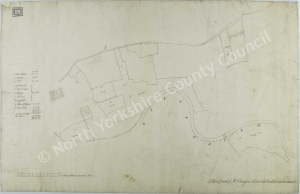 Historic map of Carlton in Coverdale