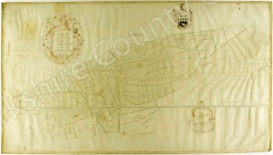Historic map of Ebberston 1770