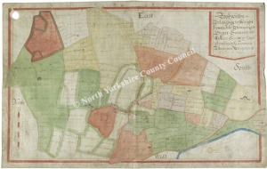 Historic Map of Rookwith 1627