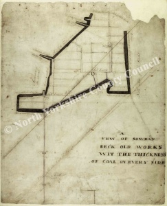 Historic map of East Witton