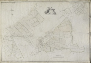 Historic map of Newton le Willows 1796