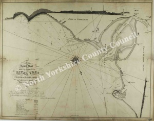 Historic map of the River Tees 1815
