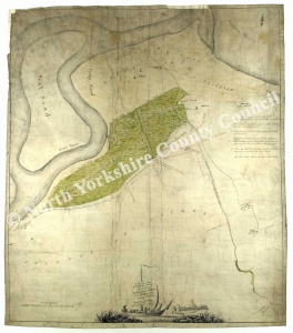 Historic map of Kirkleatham and Wilton